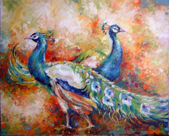 Aliexpress.com : Buy AONBAT ART 100% Hand Painted Canvas